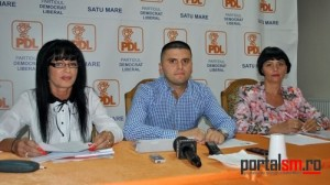 Mihaela Kostin, Adrian Cozma, Ileana Blidar, PDL Satu Mare