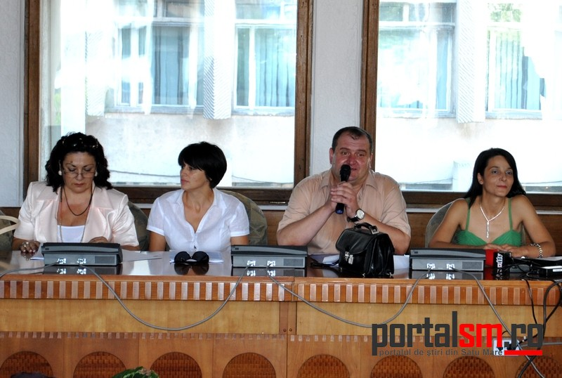 Octavian Apan, Mariana Dragos, Jeni Ardelean, Marcela Pop, DGASPC Satu Mare