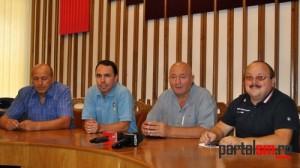 Valeriu Neagu, Peter Eles, Dorel Coica, Florin Muresan
