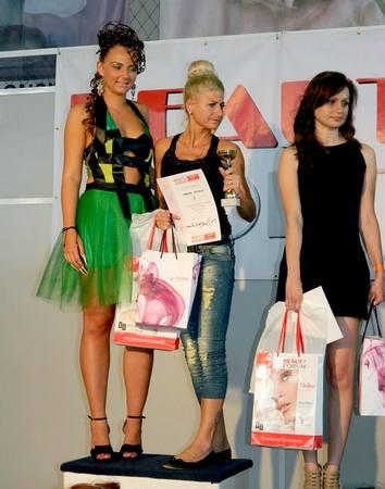 Adriana Popescu la Beauty Forum Cluj Napoca