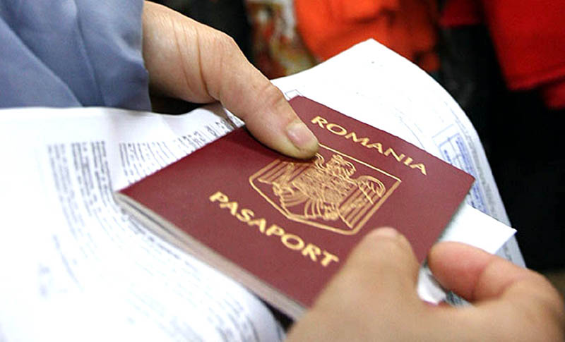 eliberare pasaport