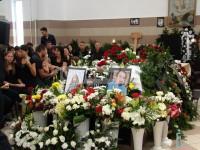 Pastorul și fiul său, uciși în Satu Mare, au fost înmormântați