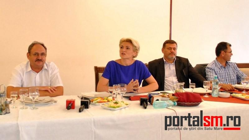 Andreea Paul, intalnire oameni de afaceri, PDL Satu Mare