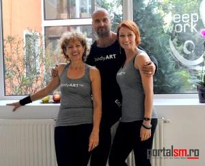 Simona Nistea, Borsodi Balazs, Illeys Ilona, PrimaGym Satu Mare