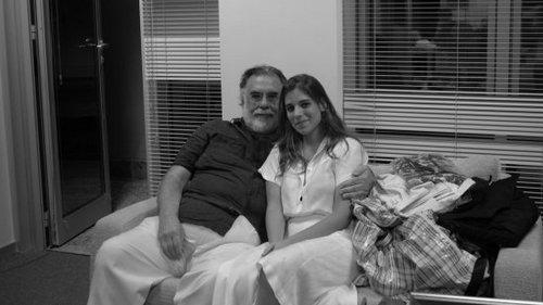 Veronica Fernandez cu Francis Ford Coppola