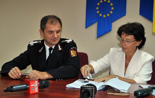 col. Gheorghe Dan, Lochli Terezia