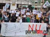 protest rosia montana satu mare (1)