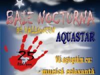 Baie nocturnă de Halloween la Aquastar