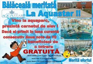 Aqua Star - Balaceala Meritata