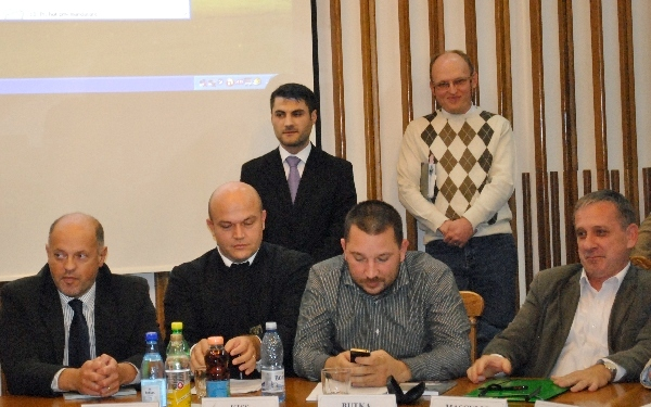 Florin Ciote in faţa consilierilor
