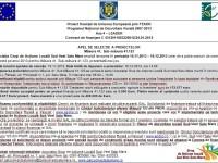 GAL Sud-Vest Satu Mare – Apel de selecție a proiectelor pe măsura 123