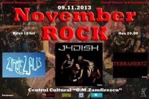 Concert rock 9 noiembrie