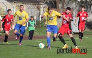 Olimpia Satu Mare a învins echipa Sântandrei cu 1-0