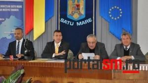conferinta presa Scoala de Arte, Mircea Deac, Adrian Stef, Riedl Rudolf, Horea Ungur (5)