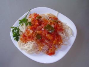 spaghete cu legume