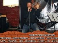 Concert Florian Acoustic, sâmbătă în Backdoor Pub