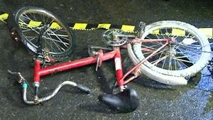 biciclist accident noaptea