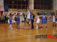 CSM-ul pierde acasă în fața echipei CSU Alba Iulia, scor 58 – 80 (FOTO)
