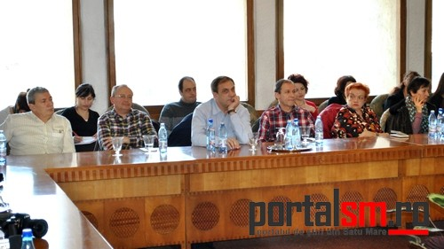 conferinta presa Consiliul Judetean, sefi sectii Spitalul Judetean (12)