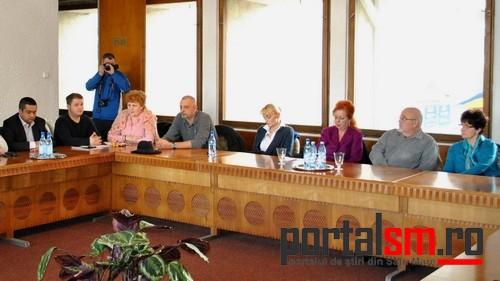 conferinta presa Consiliul Judetean, sefi sectii Spitalul Judetean (15)