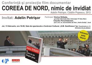 Adelin Petrisor conferinta publica