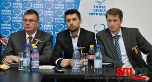 Forta Civica, Mihai Razvan Ungureanu, Mihai Huzau, Sergiu Babasan (27)