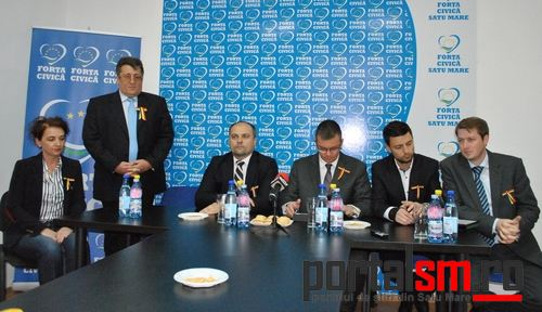 Forta Civica, Mihai Razvan Ungureanu, Mihai Huzau, Sergiu Babasan (5)