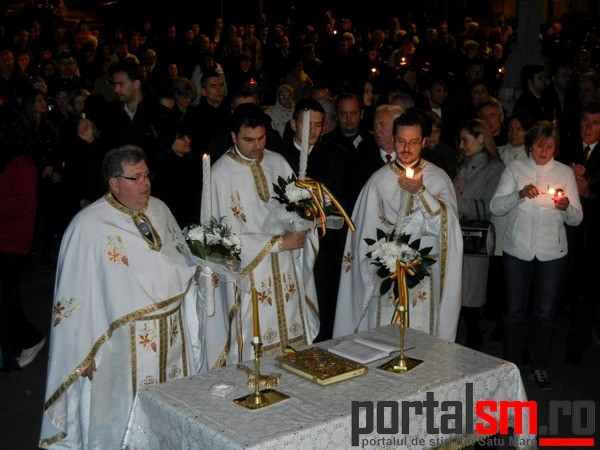 Slujba de Inviere, Paste 2014, Satu Mare