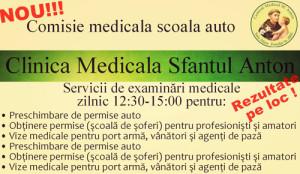 Consultații de specialitate la Clinica Sfântul Anton