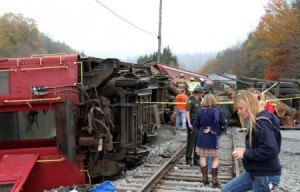 camion lovit de tren