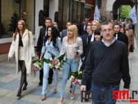 lansare europarlamentari PMP, Elena Udrea, Elena Basescu (15)