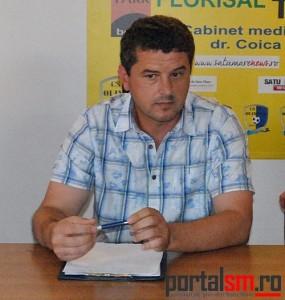 Cosmin Bodea, antrenor Olimpia Satu Mare