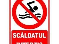 DSP atrage atenţia: Zonele de agreement Iojib, Apa şi Mujdeni nu sunt autorizate pentru scăldat
