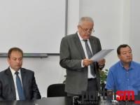 Ceremonia de prezentare a noului inspector scolar general (1)