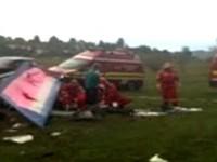 Un avion ultrauşor s-a prăbuşit în Maramureş. Un sătmărean a decedat