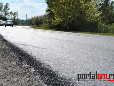 Au început lucrările de modernizare a DN 19 Livada – Negreşti Oaş – Sighet (FOTO)