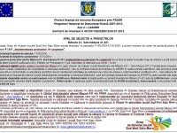 GAL Sud-Vest Satu Mare: Apel de selecţie al proiectelor pe măsura 421