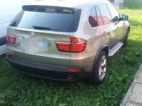 BMW X5, în valoare de 20.000 de euro, căutat pentru confiscare în Italia, depistat la Petea