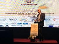 Medicul oftalmolog Levai Lehar, premiat la Congresul Național de Oftalmologie