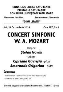concert 23 octombrie