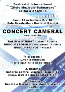 concert cameral carei
