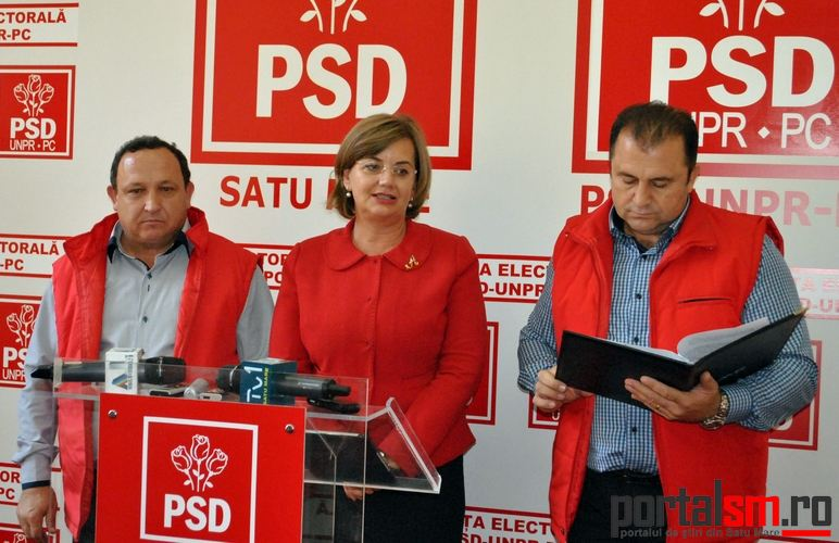 conferinta PSD, Toma Betea, Dumitru Pop, Aurelia Fedorca (7)
