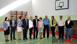 receptia lucrarilor la Sala de Sport a Colegiului Tehnic Eliza Zamfirescu   (14)