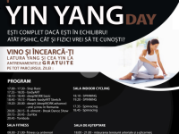 Yin Yang Day la primaGYM, luni, 20 octombrie