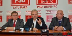 Mircea Govor, Liviu Dragnea, Dorel Coica (1)