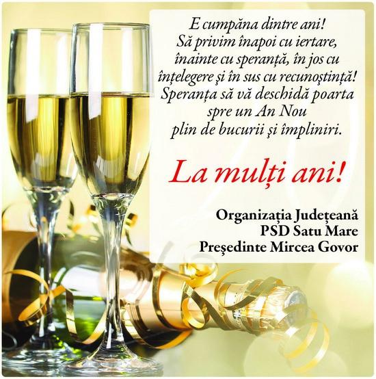 Felicitare PSD