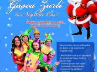 Spectacol de Moș Nicolae cu Gașca Zurli  și Târgul Darurilor de Crăciun,  în week-end la Negrești-Oaș