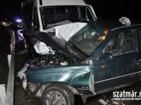 UPDATE: Accident cu doi morţi între Doba şi Decebal (FOTO)