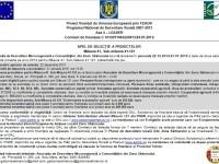 GAL Zona Sătmarului: Apel de selecţie a proiectelor pe măsura 121