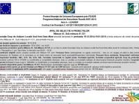 GAL Sud-Vest Satu Mare: Apel de selecție a proiectelor pe măsura 121